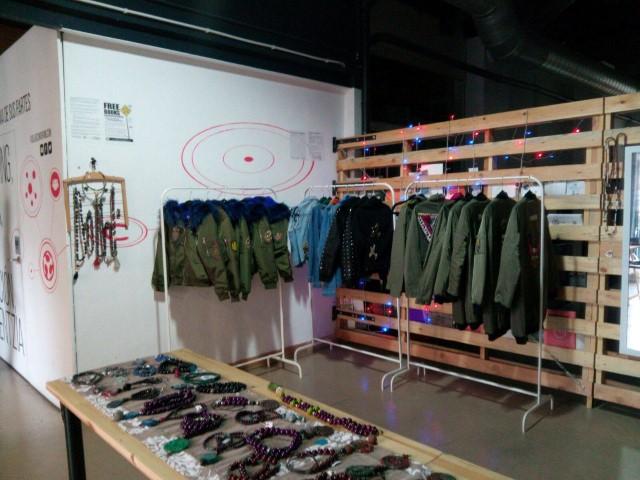 Showroom de AMALUMA en FabLab Coworking