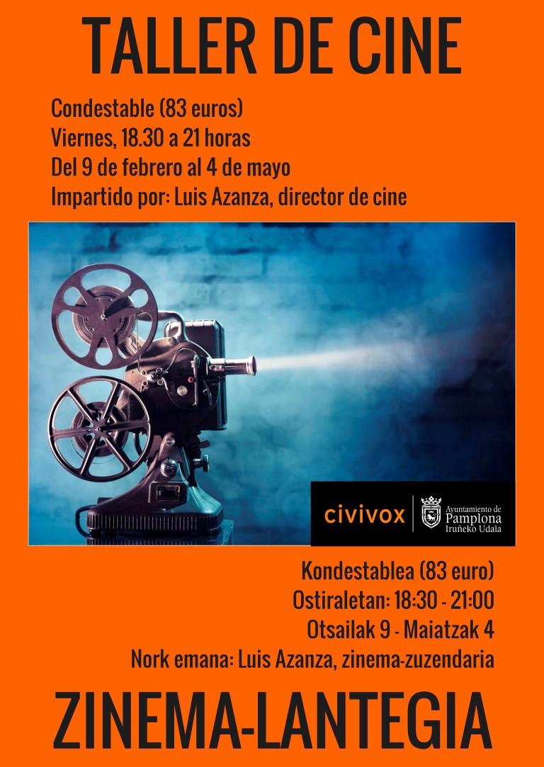 """Taller de Cine CIVIVOX Condestable – """"La mirada y el origen"""""""