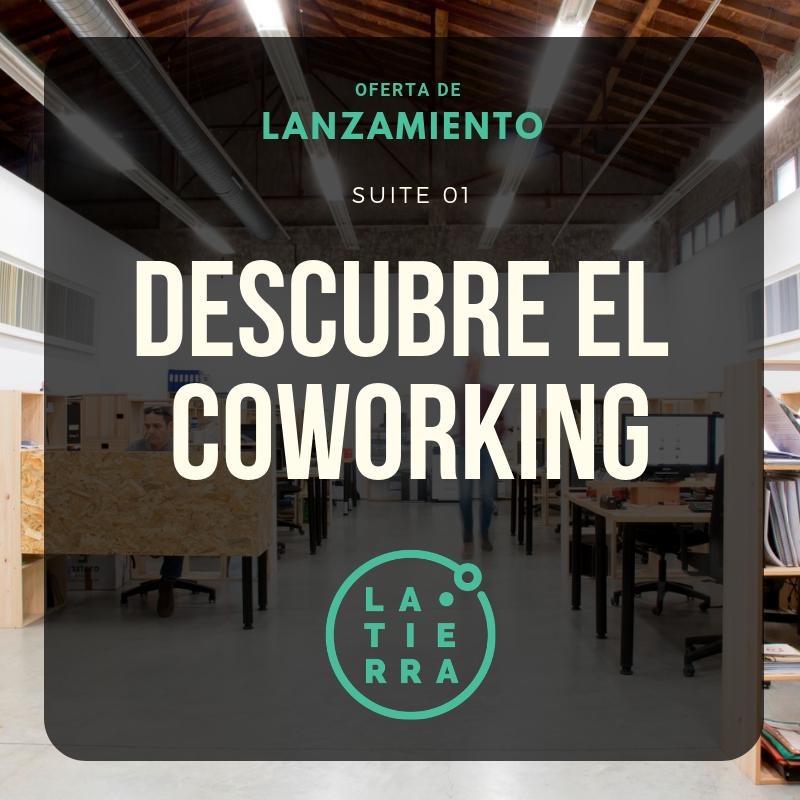 Oferta Lanzamiento 2019 | Descubre el Coworking