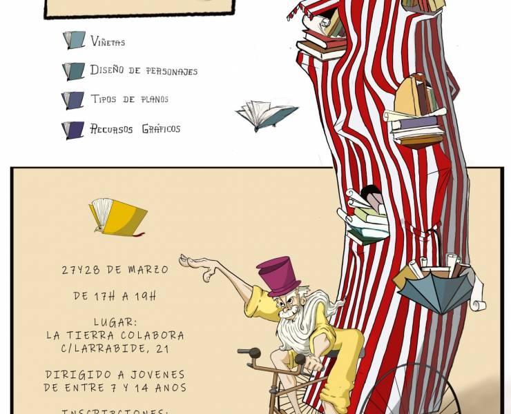 TALLER DE COMIC PARA NIÑOS (7-14AÑOS)